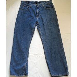Tommy Hilfiger Men Straight Zip Fly Denim Jeans 36